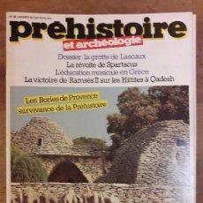 Coleccionismo de Revistas y Periódicos: REVISTA PREHISTOIRE N° 38.. Lote 118301735