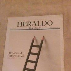 Coleccionismo de Revistas y Periódicos: HERALDO DE ARAGON ZARAGOZA ESPECIAL 110 AÑOS 1895-2005. Lote 118404003