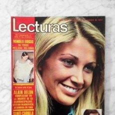 Coleccionismo de Revistas y Periódicos: LECTURAS - 1973 - MARIOLA, VALENTIN TORNOS, EMMA COHEN, ROCIO DURCAL, MARISOL, LUIS AGUILE. Lote 82355256