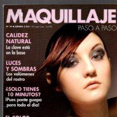 Coleccionismo de Revistas y Periódicos: MAQUILLAJE - Nº 34 - PASO A PASO - MC EDICIONES. Lote 118518939