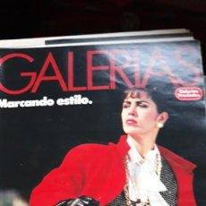 Coleccionismo de Revistas y Periódicos: CATALOGO GALERIAS PRECIADOS INVIERNO 85. Lote 179188135