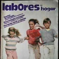 Coleccionismo de Revistas y Periódicos: REVISTA LABORALES DEL HOGAR N° 269 SEPTIEMBRE 1980 CON PATRONES PUNTO. Lote 118638688