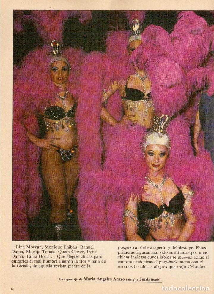 Coleccionismo de Revistas y Periódicos: 1983. LUIS OCAÑA. COLSADA, EL PADRINO. PHOOLAN DEVI. MIGUEL RIOS. SUPERTRAMP. VER SUMARIO ... - Foto 4 - 118744919