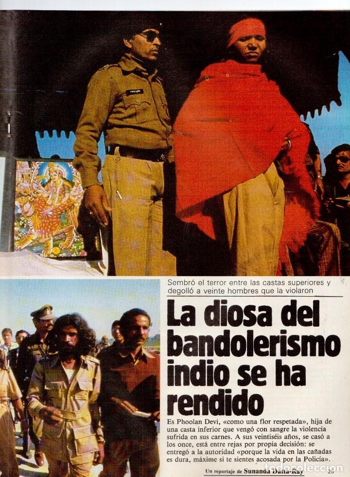 Coleccionismo de Revistas y Periódicos: 1983. LUIS OCAÑA. COLSADA, EL PADRINO. PHOOLAN DEVI. MIGUEL RIOS. SUPERTRAMP. VER SUMARIO ... - Foto 7 - 118744919