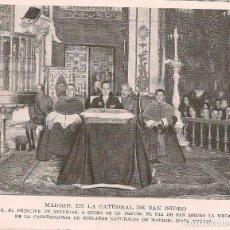 Coleccionismo de Revistas y Periódicos: * MADRID * SAN ISIDRO * MEDALLA DE LA CONGREGACIÓN DE SEGLARES AL PRÍNCIPE DE ASTURIAS - 1925 . Lote 118756203