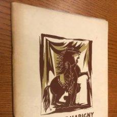 Coleccionismo de Revistas y Periódicos: THEATRE MARIGNY / SIMONNE VOLTERRA / 7 OCTUBRE 1950. Lote 118827031
