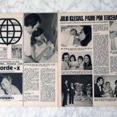 Coleccionismo de Revistas y Periódicos: REPORTAJE - JULIO IGLESIAS, ISABEL PREYSLER, ENRIQUE IGLESIAS, CHABELI, JULIO JOSE - 1975. Lote 118828231