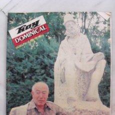 Coleccionismo de Revistas y Periódicos: REVISTA HOY DOMINICAL. ABRIL DE 1983.. Lote 118943079