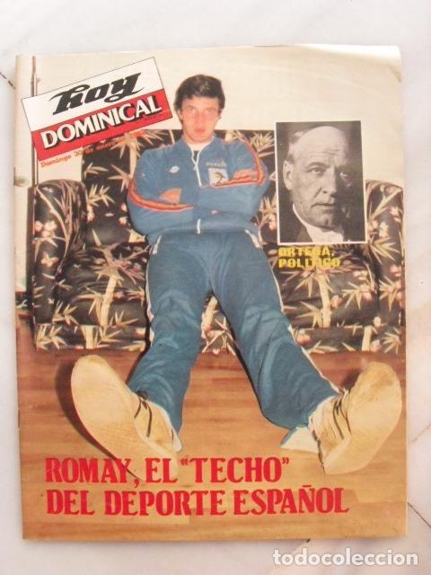 REVISTA HOY DOMINICAL. ROMAY. ENERO 1983. (Coleccionismo - Revistas y Periódicos Modernos (a partir de 1.940) - Otros)