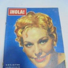 Coleccionismo de Revistas y Periódicos: REVISTA. HOLA. Nº 1074. MARZO 1965. UN DIA 13, MARGARITA DE INGLATERRA, REY FARUK, DUQUES DE WINDSOR. Lote 119093227