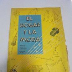 Coleccionismo de Revistas y Periódicos: REVISTA. EL HOGAR Y LA MODA. NUMERO ESPECIAL DE NAVIDAD. 25 DICIEMBRE 1935. A COLOR. Lote 119095435