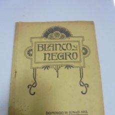 Coleccionismo de Revistas y Periódicos: REVISTA. BLANCO Y NEGRO. 16 JUNIO 1912. CORRIDA BENFICA BARCELONA, SECCION RECREATIVA, TARDE FELIZ. Lote 119095507