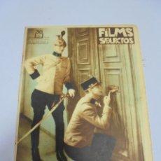 Coleccionismo de Revistas y Periódicos: REVISTA. FILMS SELECTOS. Nº 74. MARZO 1932. EL TENIENTE DEL AMOR, KETTY MORENO, CINE Y MODA. Lote 119095647