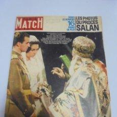 Coleccionismo de Revistas y Periódicos: REVISTA. PARIS MATCH. Nº 685. MAYO 1962. BODA DE JUAN CARLOS DE BORBON Y SOFIA DE GRECIA. Lote 119095767