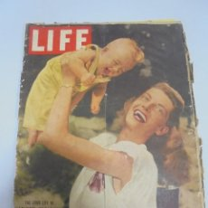 Coleccionismo de Revistas y Periódicos: REVISTA. LIFE. SEPTIEMBRE 1948. THE GOOD LIFE IN MADISON, WISCONSIN. EDICION INTERNACIONAL. Lote 119096483