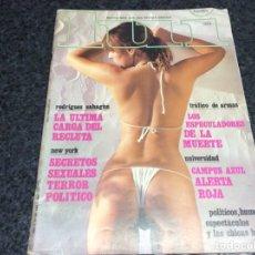 Coleccionismo de Revistas y Periódicos: LUI Nº 46 ABRIL 1981 (REVISTA EROTICA - AÑOS 80). Lote 119107919