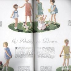 Coleccionismo de Revistas y Periódicos: LES ENFANTS DU JARDIN DES MODES Nº 4 (1930) REVISTA DE MODA INFANTIL. Lote 119122263