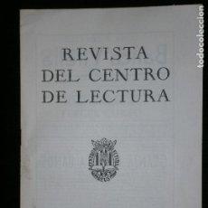 Coleccionismo de Revistas y Periódicos: F1 REVISTA DEL CENTRO DE LECTURA CUARTA EPOCA Nº 21 REUS MARZO 1954. Lote 119131235