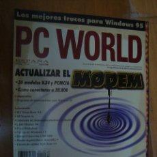 Coleccionismo de Revistas y Periódicos: REVISTA PC WORLD Nº 120 ABRIL 1996 . Lote 119147119