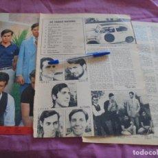 Coleccionismo de Revistas y Periódicos: RECORTE DE PRENSA : LOS PEKENIKES. CARIÑO, 1966. Lote 119167315