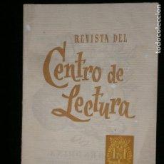 Coleccionismo de Revistas y Periódicos: F1 REVISTA DEL CENTRO DE LECTURA DE REUS Nº 167-168 JULIO 1966. Lote 119209099