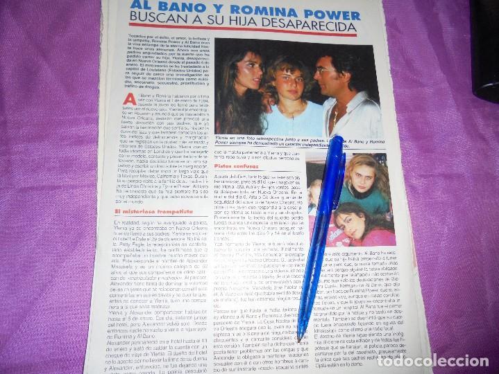 Recorte Prensa Al Bano Y Romina Power Busc Comprar Otras