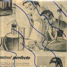 Coleccionismo de Revistas y Periódicos: NEUMATICOS 1948 GENERAL POPO HOJA REVISTA. Lote 119358603