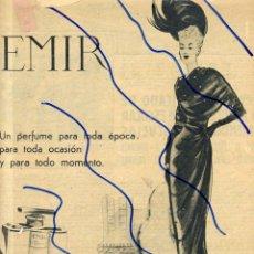 Coleccionismo de Revistas y Periódicos: DANA PERFUME 1948 HOJA REVISTA. Lote 119358663