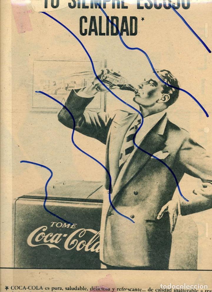COCACOLA 1948 HOJA REVISTA (Coleccionismo - Revistas y Periódicos Antiguos (hasta 1.939))