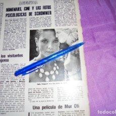 Coleccionismo de Revistas y Periódicos: RECORTE PRENSA : PATTY SHEPARD LUCE JOYAS DE JESUS YANES. BLANCO Y NEGRO, 1975. Lote 119361307