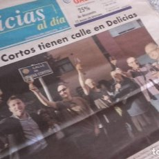 Coleccionismo de Revistas y Periódicos: CELTAS CORTOS - INAUGURACIÓN DE SU CALLE EN EL BARRIO DE LAS DELICIAS DE VALLADOLID. Lote 119372911