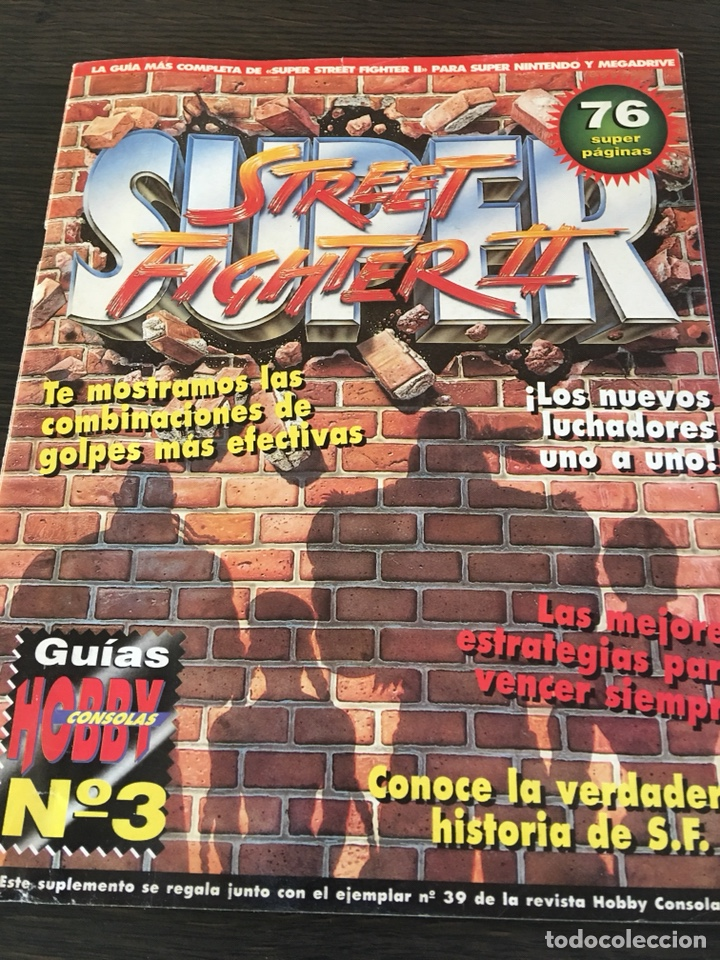 Guia super street fighter ii para nintendo y me - Sold