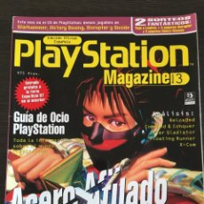 Coleccionismo de Revistas y Periódicos: REVISTA PLAYSTATION MAGAZINE NUMERO 3. Lote 119442691
