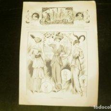 Coleccionismo de Revistas y Periódicos: EL SALON DE LA MODA. REVISTA DE MODA DE PARIS. 1914. Lote 119470363