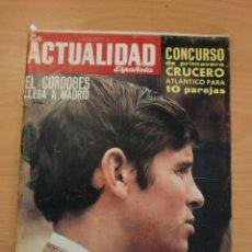 Coleccionismo de Revistas y Periódicos: LA ACTUALIDAD ESPAÑOLA - EL CORDOBES - DALÍ - REAL MADRID 1ª COPA DE EUROPA DE BALONCESTO - ARTIACH. Lote 119502115