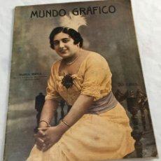 Coleccionismo de Revistas y Periódicos: MUNDO GRÁFICO. Lote 119564003