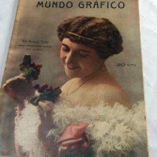 Coleccionismo de Revistas y Periódicos: MUNDO GRÁFICO. Lote 119564195