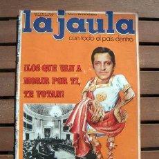 Coleccionismo de Revistas y Periódicos: REVISTA LA JAULA / BARBARA REY AL DESNUDO, ROCIO JURADO, FESTIVAL DE CANNES, UN DOS TRES. Lote 119631119