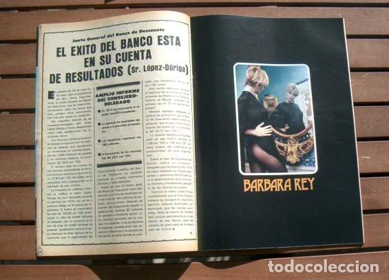 Coleccionismo de Revistas y Periódicos: Revista LA JAULA / BARBARA REY al desnudo, ROCIO JURADO, FESTIVAL DE CANNES, UN DOS TRES - Foto 2 - 119631119
