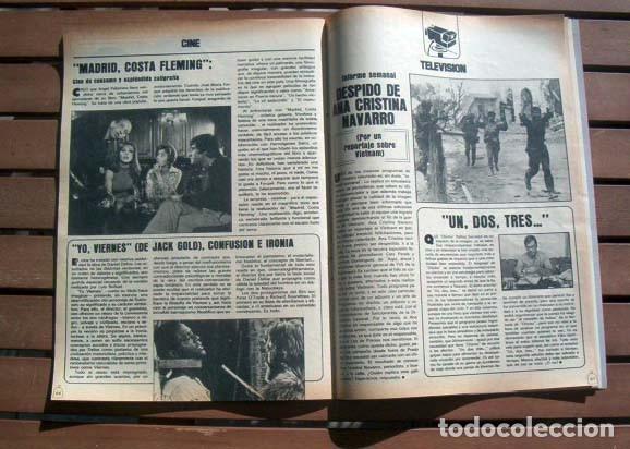 Coleccionismo de Revistas y Periódicos: Revista LA JAULA / BARBARA REY al desnudo, ROCIO JURADO, FESTIVAL DE CANNES, UN DOS TRES - Foto 4 - 119631119