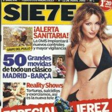 Coleccionismo de Revistas y Periódicos: REVISTA SIE7E - EJEMPLAR NUMERO 1. Lote 119674359
