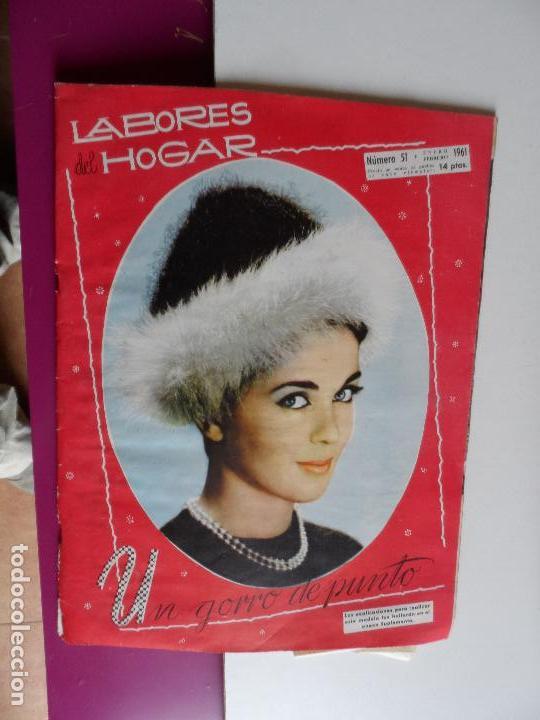 Coleccionismo de Revistas y Periódicos: LABORES DEL HOGAR 51 1961 - Foto 1 - 119773791