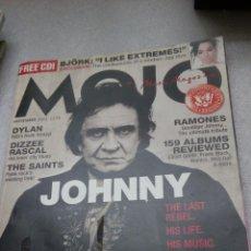 Coleccionismo de Revistas y Periódicos: REVISTA MOJO Nº132 NOVEMBER 2004 JOHNNY CASH. Lote 119943191