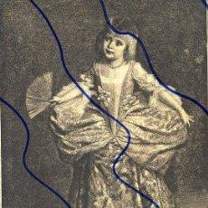 Coleccionismo de Revistas y Periódicos: MINUE 1889 ILUSTRACION HOJA REVISTA. Lote 120018015