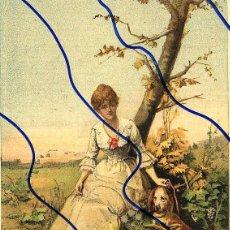 Coleccionismo de Revistas y Periódicos: OTOÑO 1889 ILUSTRACION HOJA REVISTA. Lote 120018207