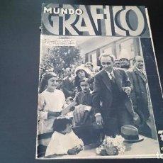 Coleccionismo de Revistas y Periódicos: REVISTA POPULAR ILUSTRADA MUNDO GRÁFICO 13 ABRIL 1932 - NUM 1067 AÑO XXII - REPÚBLICA . Lote 120039679