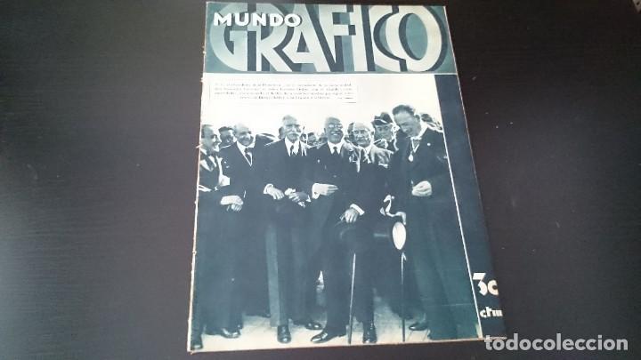 REVISTA POPULAR ILUSTRADA MUNDO GRÁFICO 1 NOVIEMBRE 1933 - NUM 1148 AÑO XXIII - REPÚBLICA (Coleccionismo - Revistas y Periódicos Antiguos (hasta 1.939))