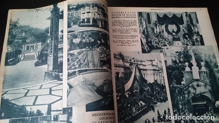 Coleccionismo de Revistas y Periódicos: REVISTA POPULAR ILUSTRADA MUNDO GRÁFICO 1 NOVIEMBRE 1933 - NUM 1148 AÑO XXIII - REPÚBLICA - Foto 4 - 120046903