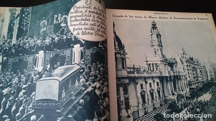 Coleccionismo de Revistas y Periódicos: REVISTA POPULAR ILUSTRADA MUNDO GRÁFICO 1 NOVIEMBRE 1933 - NUM 1148 AÑO XXIII - REPÚBLICA - Foto 5 - 120046903