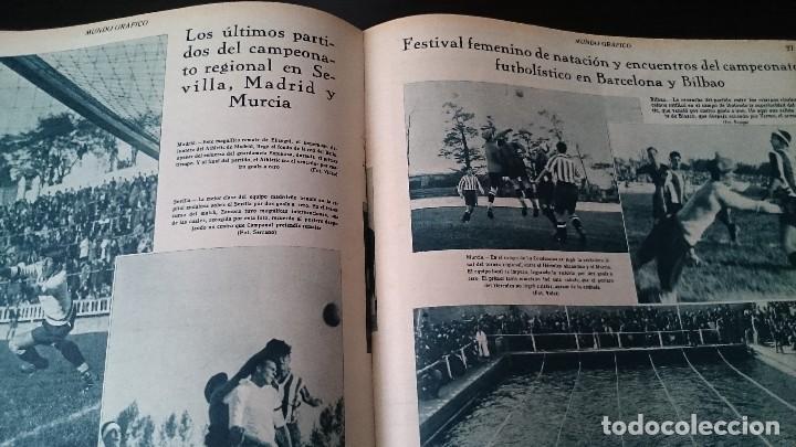 Coleccionismo de Revistas y Periódicos: REVISTA POPULAR ILUSTRADA MUNDO GRÁFICO 1 NOVIEMBRE 1933 - NUM 1148 AÑO XXIII - REPÚBLICA - Foto 8 - 120046903
